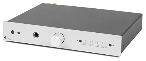 Pro-Ject Hi-Fi Stereo Amplifier (MaiA (silver)) by Pro-Ject