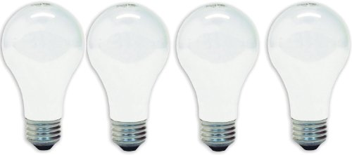 GE Lighting 41028 60-Watt A19, Soft White, 4-Pack