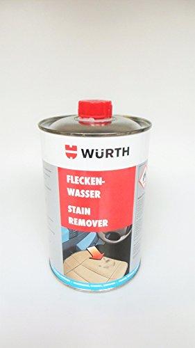 5 x Würth manchas Agua Transparente (4052703053018) 1lt – Quitamanchas limpiador