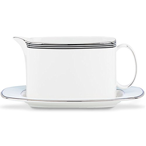Kate Spade New York 848417 Parker Place Gravy Boat and Stand,