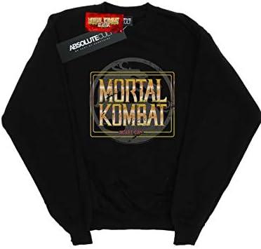 Absolute Cult Mortal Kombat Herren Klassic Insert Coin Retro Sweatshirt Schwarz XX-Large