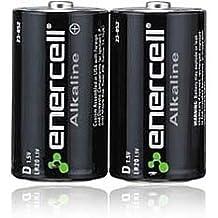"Enercell Alkaline ""D"" Batteries (2-Pack)"