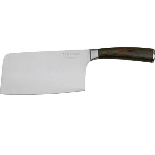 Handle American Walnut (Top Chef TC-28 Dynasty Cleaver Walnut Handle, Silver)