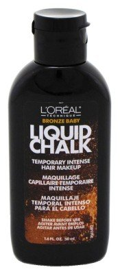 L'Oreal Liquid Chalk Temporary Intense Hair Makeup, Bronze Baby, 1.6 Ounce by L'Oreal Paris