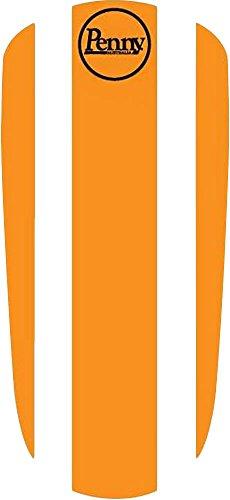 元ペニースケートボードデッキパネルステッカー、オレンジ、22