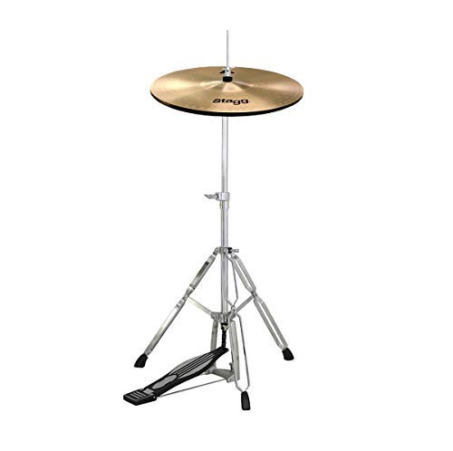 Stagg 14' AX Hi-Hat Cymbals & Mapex Tornado Cymbal Stand GREAT DEAL!
