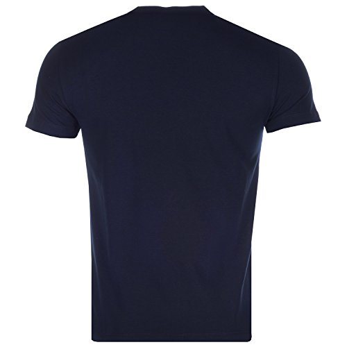 Emporio Armani Herren T-Shirt Blau Blau