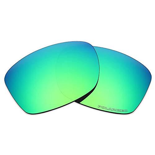 Mryok+ Polarized Replacement Lenses for Oakley Jupiter Squared/Jupiter Carbon - Emerald Green (Jupiter Lenses Oakley Replacement Squared)