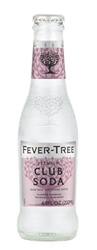 Club Soda Drink (Fever-Tree Club Soda, 6.8 Ounce Glass Bottles (Pack of 24))