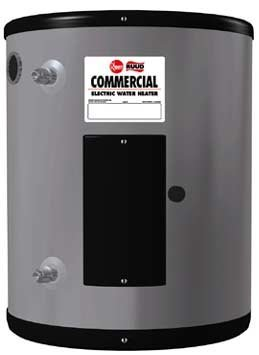 Rheem EGSP20 Point-Of-Use Electric Commercial Water Heater, 19.9 Gallon, 208v, 2Kw