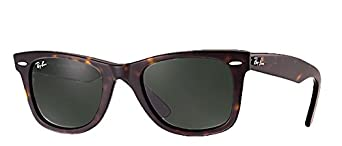 all black ray ban wayfarer  Amazon.com: Ray-Ban RB2140 Wayfarer (47mm Tortoise Frame, Solid ...