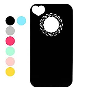 Ultra Slim Lightweight Unique Protective Back Case for iPhone 4 and 4S (Assorted Colors) - COLOR#Blue