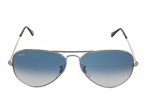 Ray Ban RB3025 003/3F Silver/Crystal Gradient light Blue 62mm (Crystal Gradient Light)