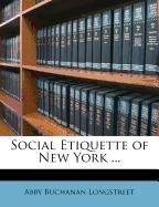 Download Social Etiquette of New York ... pdf