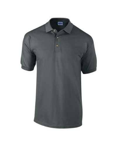 Gildan Ultra Cotton TM gekämmte ringgesponnene Piqué-Polo Erwachsenen L,Charcoal