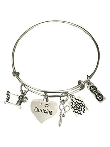 Quilting Bangle Bracelet