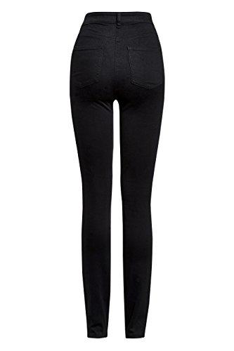 next Mujer Pantalones Jogging Leggings Vaqueros Pitillos Negro