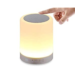 devcool led touch lamp bluetooth speaker review