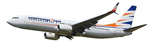 Herpa 610780 – Smar Twings Aircraft Boeing 737 – 800 – White bluee orange