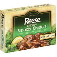 Reese Medium Smoked Oysters, 3.7 oz