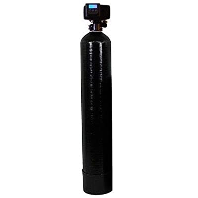 DuraWater Fleck 5600 SXT Air Injection Eater Filter. Removes Iron, Manganese, H2S. Black Series. 1.5 Cubic ft