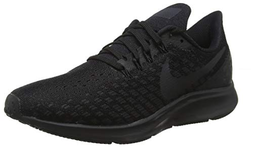 d264ccfc16 Nike Women's Zoom Pegasus 35 Running Shoe Black/Oil Grey/White Size 7 M