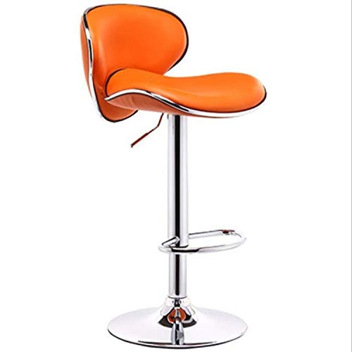Linmatealliance Furniture Modern Minimalist Fashion Lift High Foot Bar Chair Rotary Cash Register Chair(White)Dining Room Chairs Parsons Chair Kitchen Chairs Set of 4 Dining Chairs Side Chairs for Hom (Dining Set Furniture Hom)