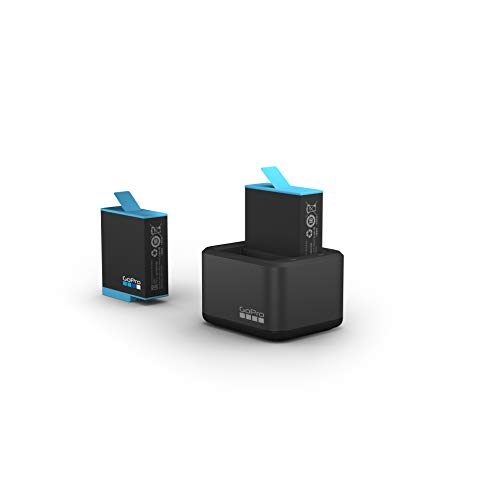 Dual Battery Charger + Battery (HERO9 Black) - Official GoPro Accessory (ADDBD-001)