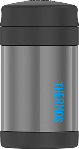 Thermos Funtainer 16 Ounce Food Jar, Charcoal (Thermos Food)