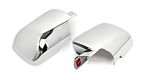 MaxMate Fits 04-13 Nissan Titan/05-12 Armada Chrome Mirror Cover ()