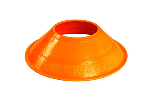 Kwik Goal Mini Cones (25-Pack), Hi Vis Orange
