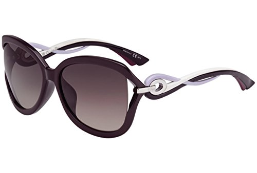 Christian Dior Twisting/F/S Sunglasses Plum Lilac White / Mauve - Sunglasses Dior Purple