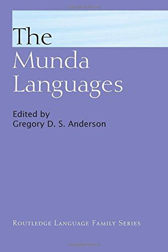 The Munda Languages (Routledge Language Family Series)