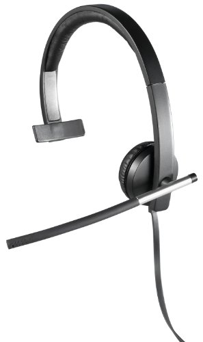 Logitech USB Headset Mono H650e (Business Product), Corded Single-Ear Headset