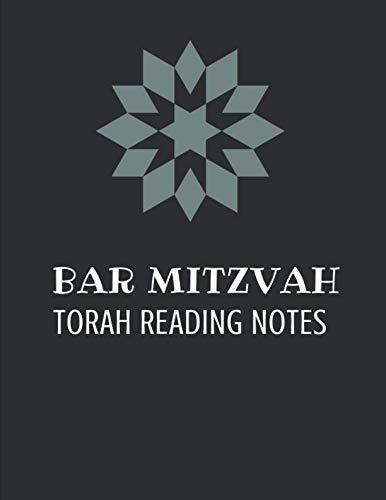 Bar Mitzvah Torah Reading Notes: Story Paper Notebook]()