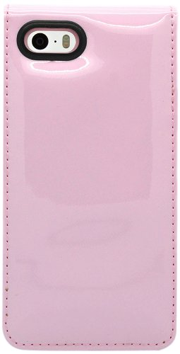 36f3e49cb184e Ted Baker Patent Leather Style Flip Case for Apple iPhone 5 5S - Candy