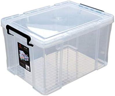 LDG Grande Plastico Caja Almacenamiento, Ligero Robusto Apilable ...
