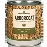 Benjamin Moore's ARBORCOAT Solid Deck and Siding Stain (640)