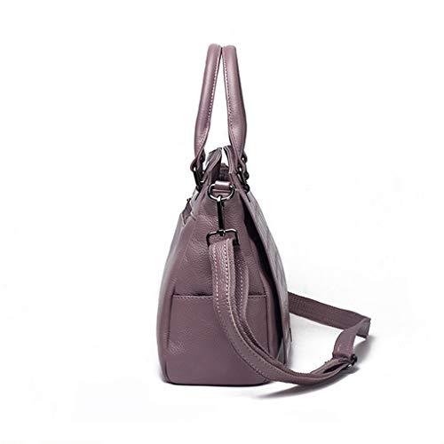 Rojo Bolso para WMS rojo vino M Camphor mujer hombro al Purple X6qUdx7wP