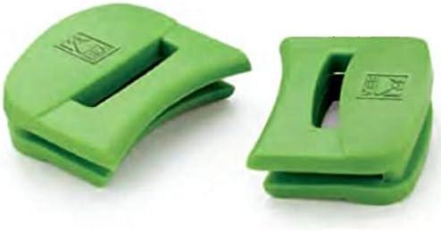BRA Prior - Juego de 2 asas de silicona, medida pequeña, para BRA Prior, con diámetro de 20 cm, color verde