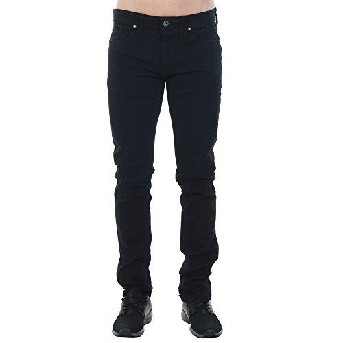 Hombre Del Negro 298 Jack Negro ajustado Tim de originales Jones Jeans amp; qwfES