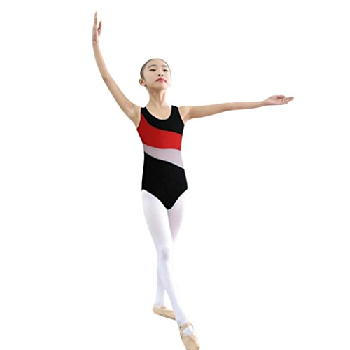 SMALLE Clearance Little Girls Leotards Ballet Playsuit Dancewear Gymnastics Classic Outfits ()