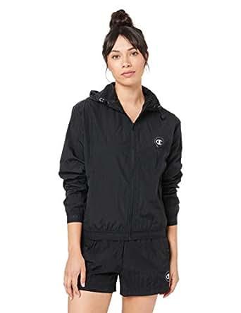 Champion Women's Athletic Jacket, Black, X-Small