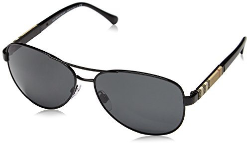 Burberry Unisex 0BE3080 - Black Burberry