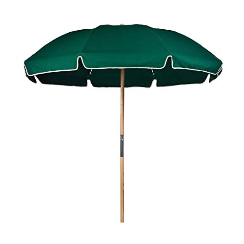 (7.5 ft. Fiberglass Commercial Grade Beach Umbrella with Ashwood Pole/Olefin Fabric/Carry Bag )