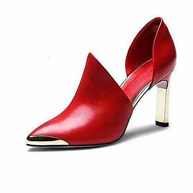 LvYuan Talons Rouge Automne Noir Plat ggx Femme Printemps Chaussures Polyuréthane à ruby pUpnr