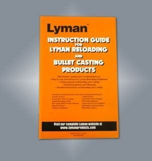 Lyman Metallic Reloading Users Guide