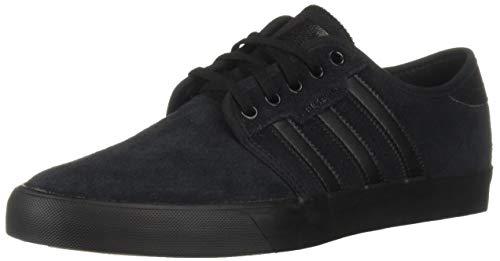 adidas Originals Men's Seeley Running Shoe Black, 10.5 M US