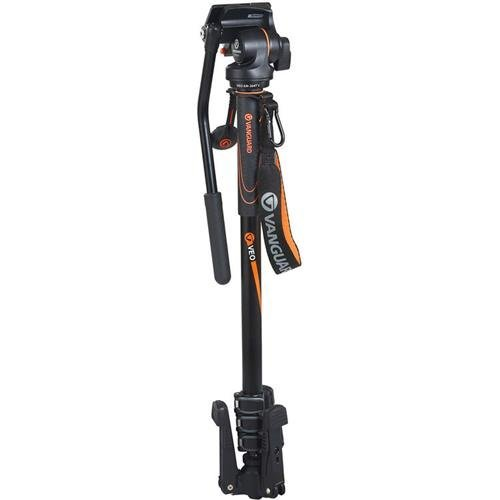 Vanguard 4-Section Aluminum Monopod with 2 Way Video Panhead, 13.2lbs Load Capacity, 60-65'' Maximum Height by VANGUARD