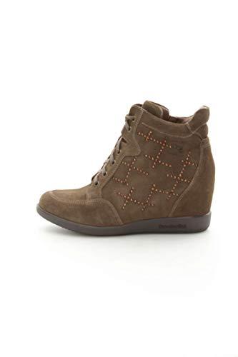 Grigio A411622D Donna Giardini Sneakers Nero O1qI5I